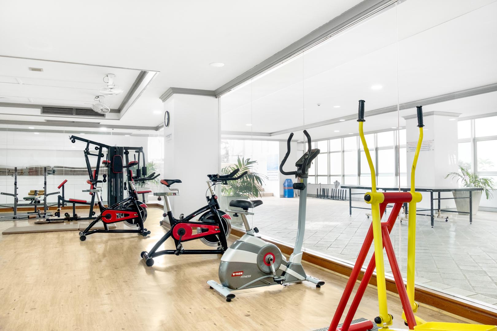 Sea View Gym Room